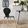 Path Dining Side Chair - Black - EEI-1053-BLK
