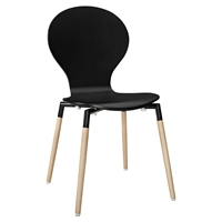 Path Dining Side Chair - Black