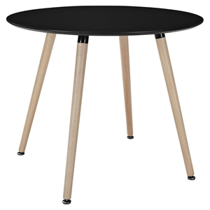 Track Circular Dining Table - Black