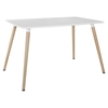 Field White Dining Table - EEI-1056-WHI