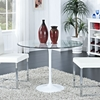 Circuit Clear Dining Table - EEI-1068-CLR