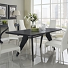 Clasp Wenge Dining Table - EEI-1078-WEN