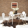 Lode White Dining Table - EEI-1094-WHI