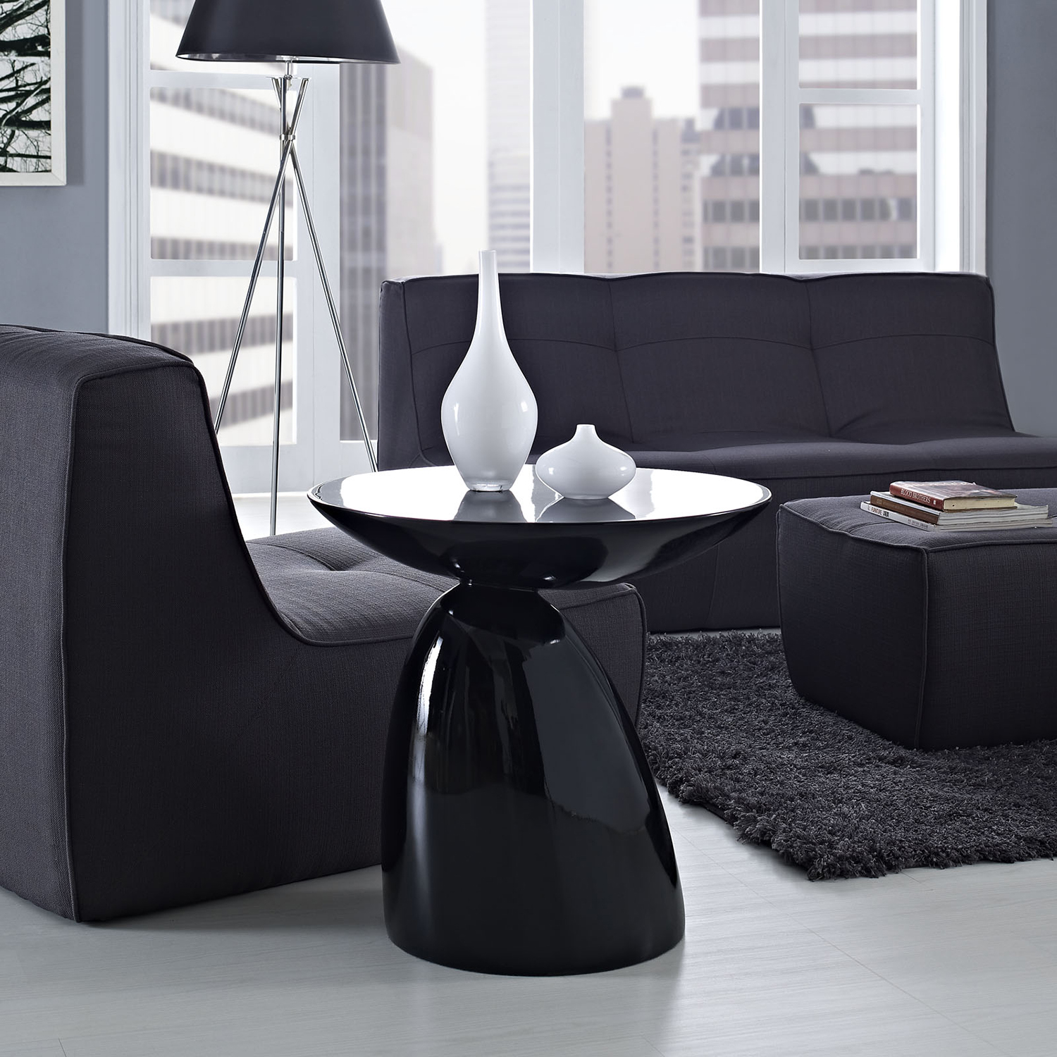 Flow Round Side Table - EEI-1101