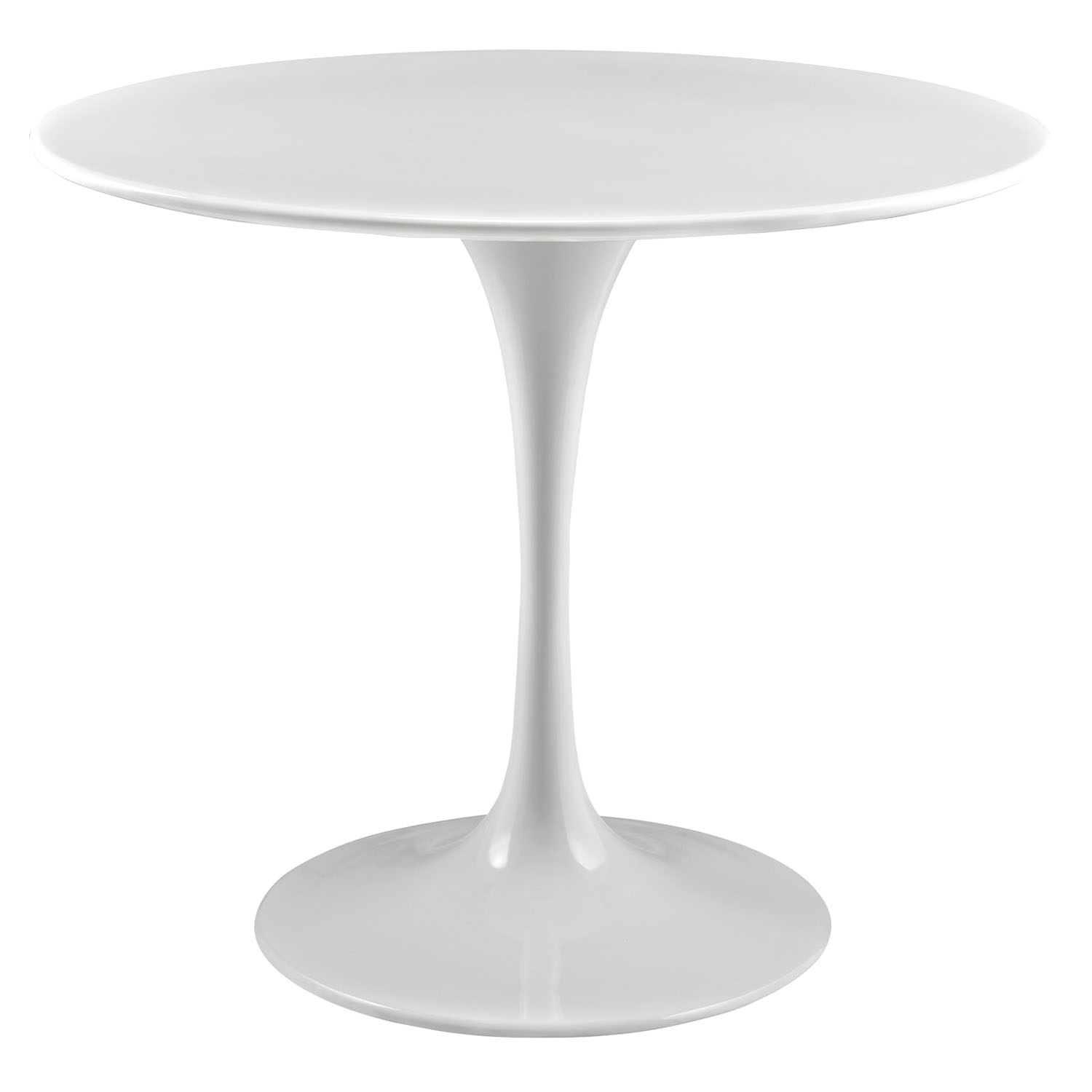"Lippa 36"" Wood Top Dining Table - White - EEI-1116-WHI"