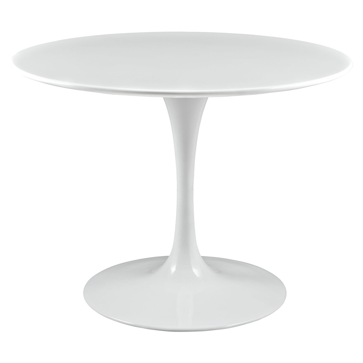 "Lippa 40"" Wood Top Dining Table - White - EEI-1117-WHI"