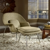 Womb Chair and Ottoman - Saarinen Inspired - EEI-113