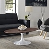 "Lippa 42"" Walnut Coffee Table - EEI-1141-WAL"