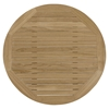 Marina Outdoor Patio Coffee Table - Natural, Round - EEI-1153-NAT