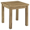 Marina Patio Teak Side Table - Natural - EEI-1155-NAT