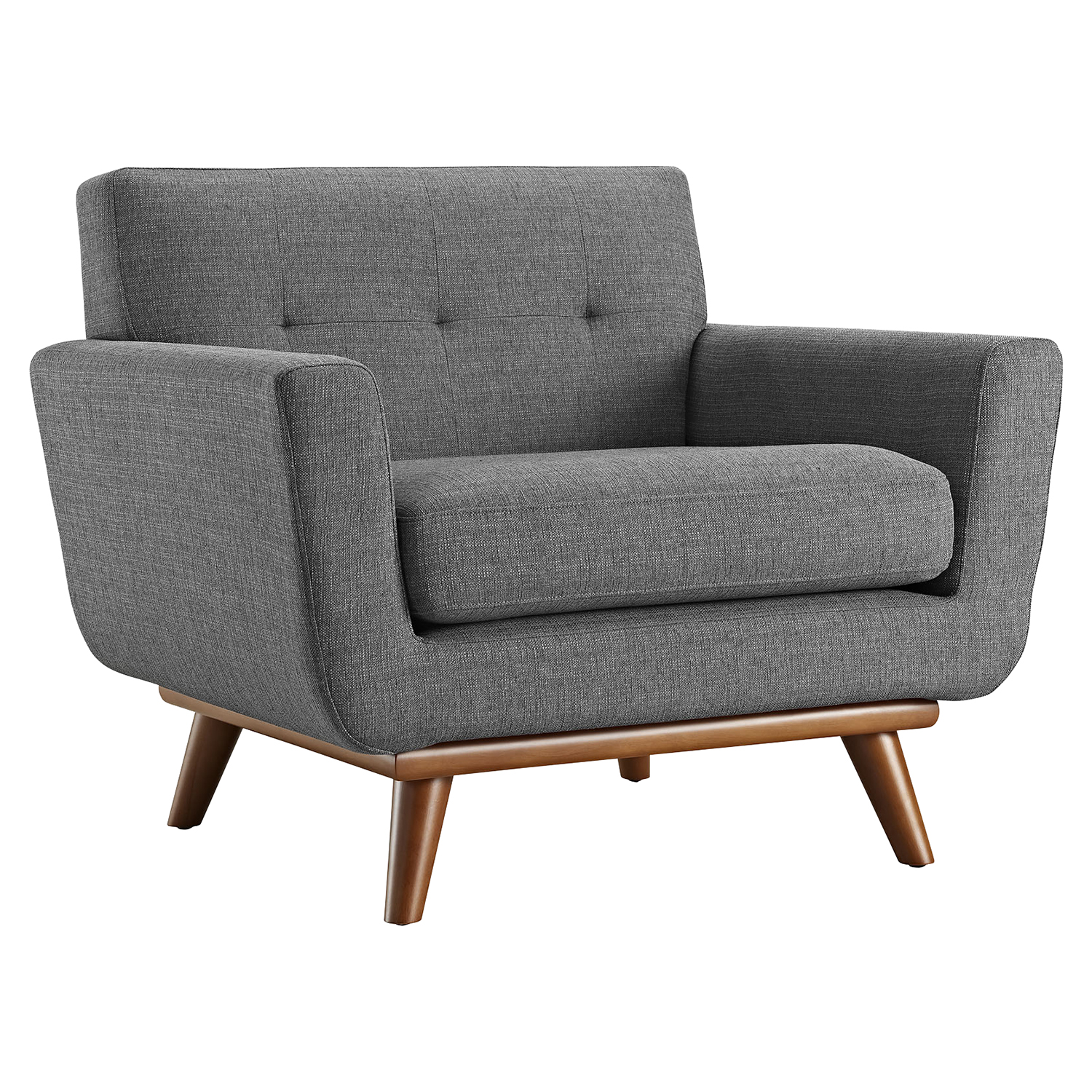 Engage Upholstered Armchair - Tufted - EEI-1178