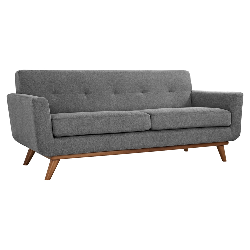 Engage Upholstered Loveseat Tufted Dcg Stores