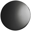 Lippa Saarinen Inspired Fiberglass Round Dining Table in Black - EEI-11X-BLK