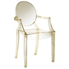 Casper Acrylic Stackable Ghost Armchair - EEI-121