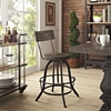 Procure Wood Bar Stool - Brown - EEI-1212-BRN