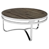 Provision Wood Top Coffee Table - Brown - EEI-1213-BRN