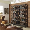 Headway Wood Bookshelf - Brown - EEI-1215-BRN-SET