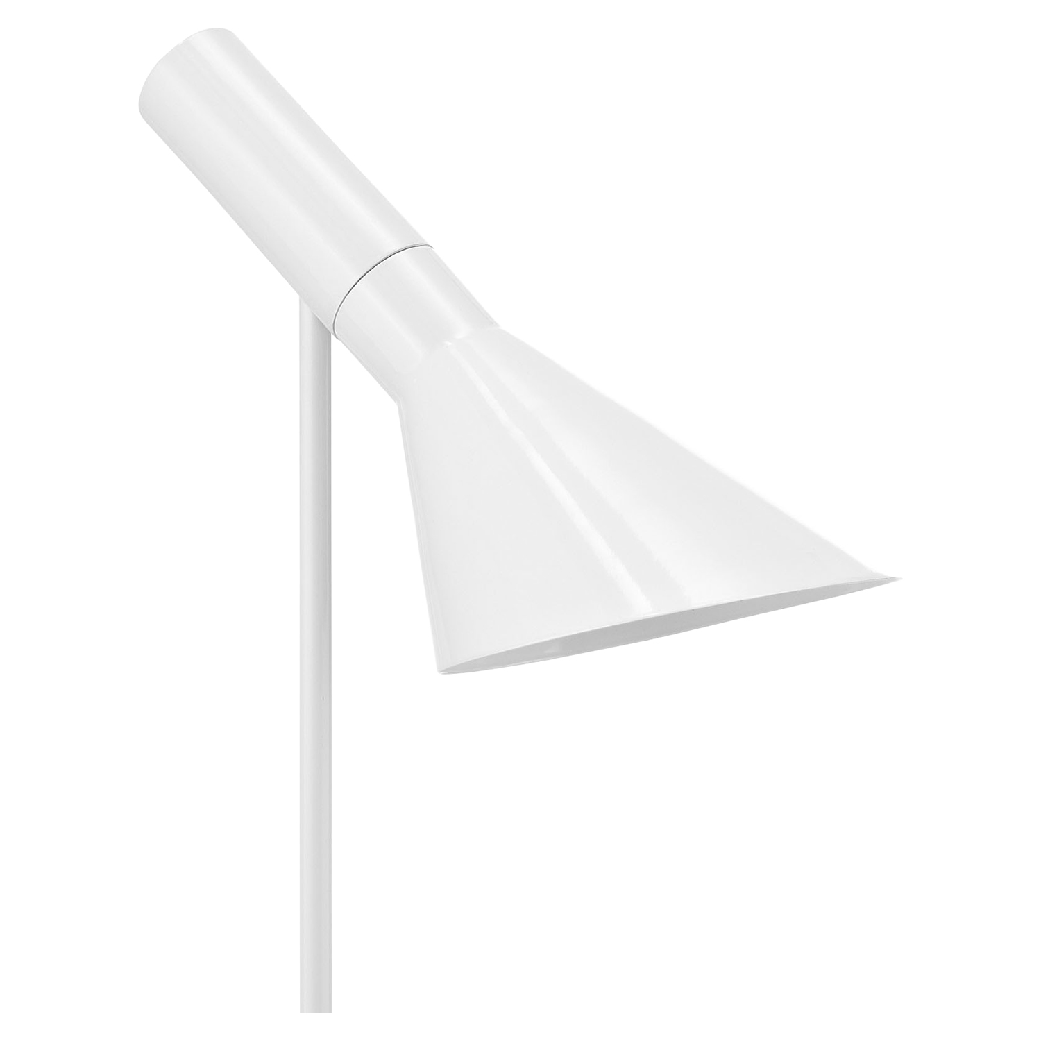 Flashlight Floor Lamp - White - EEI-1229-WHI