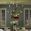 Volley Silver Chandelier - EEI-1234-SLV