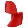 Slither S-Shaped Dining Side Chair - Red (Set of 4) - EEI-1255-RED