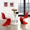 Slither Dining Side Chair - Red (Set of 2) - EEI-1254-RED