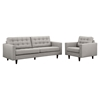 Empress Armchair and Sofa - Tufted - EEI-1313