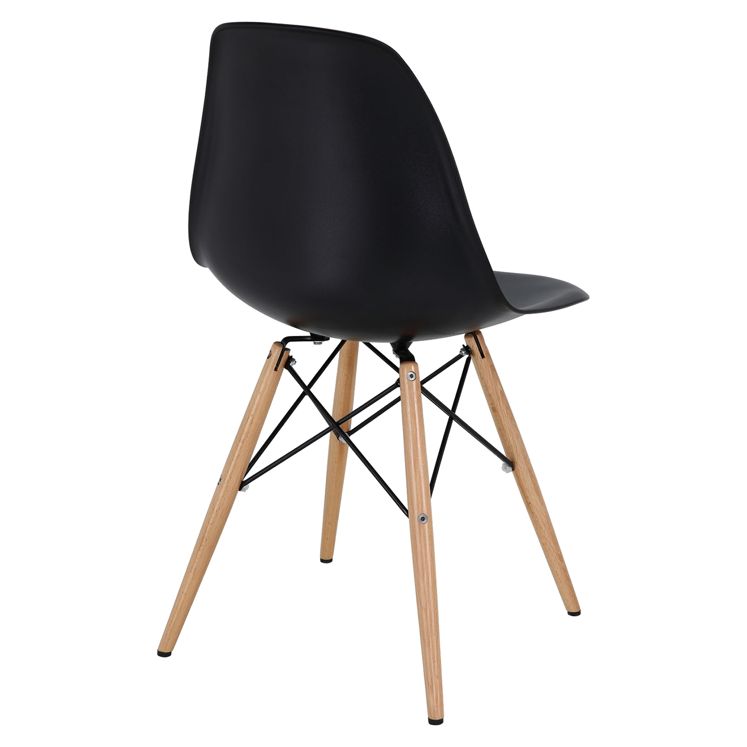 Pyramid Dining Side Chair - Black (Set of 4) - EEI-1316-BLK
