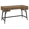 Surplus Office Desk - Walnut - EEI-1328-WAL-KIT