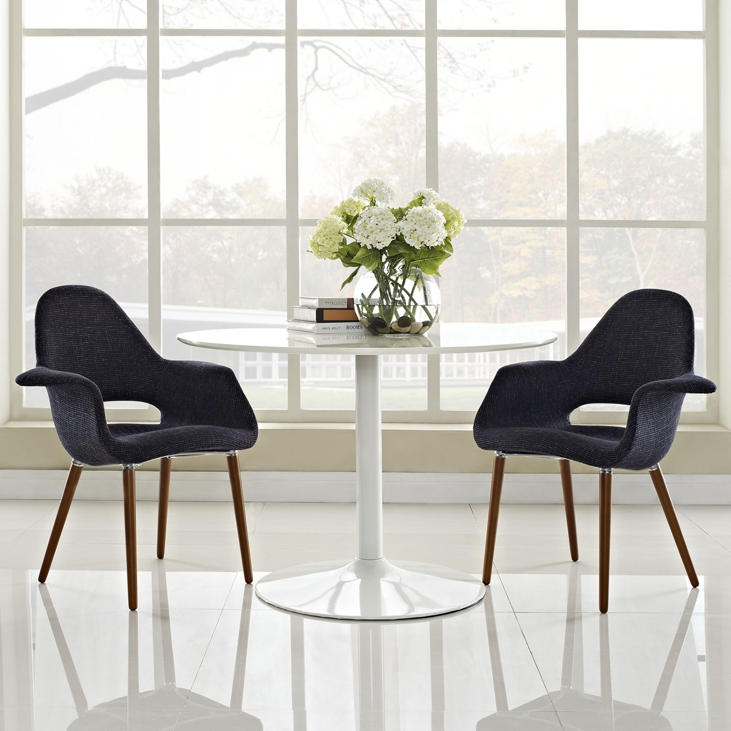 Aegis Upholstery Dining Armchair (Set of 2) - EEI-1329