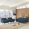 Engage 3 Pieces Armchair and Loveseat - Tufted - EEI-1347