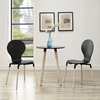 Path Dining Chair - Black (Set of 2) - EEI-1368-BLK