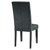 Parcel Fabric Side Chair - Nailhead, Gray - EEI-1384-GRY