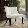 Royal Button Tufted Fabric Accent Chair - EEI-1403