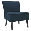 Reef Fabric Accent Chair - Azure - EEI-1405-AZU