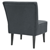 Reef Fabric Accent Chair - Gray - EEI-1405-GRY