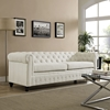 Earl Fabric Sofa - Button Tufted, Beige - EEI-1414-BEI