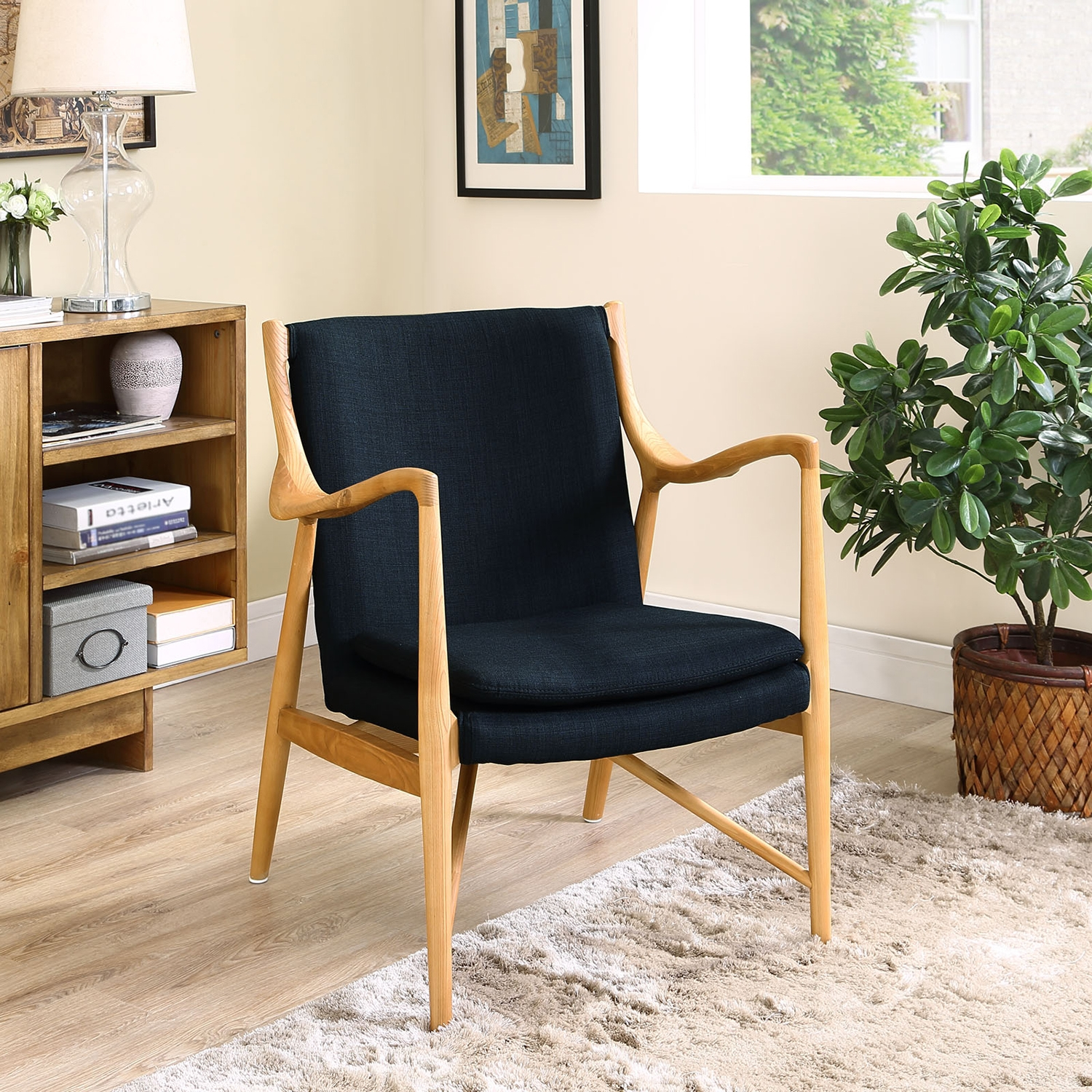 Makeshift Upholstered Lounge Chair - EEI-1440