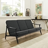 Pace Upholstered Sofa - Black, Gray - EEI-1448-BLK-GRY