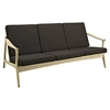 Pace Upholstered Sofa - Natural, Chocolate - EEI-1448-NAT-CHC