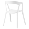 Tread Dining Armchair - White - EEI-1454-WHI