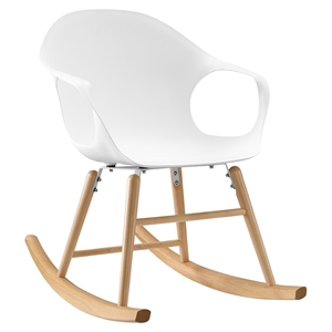 Swerve Rocking Chair - White