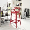 Entangled Bar Stool - Red - EEI-1460-RED