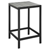 Maine Outdoor Patio Bar Table - Brown, Gray - EEI-1511-BRN-GRY