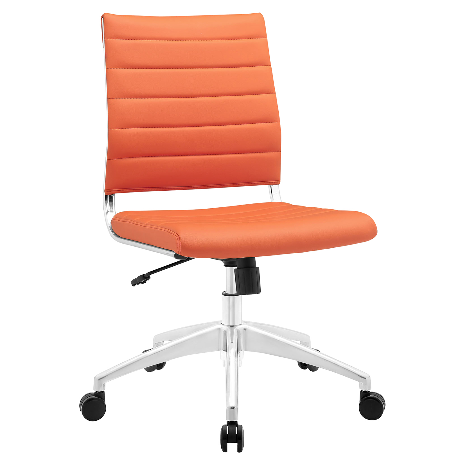 Jive Armless Mid Back Office Chair - Height Adjustable - EEI-1525