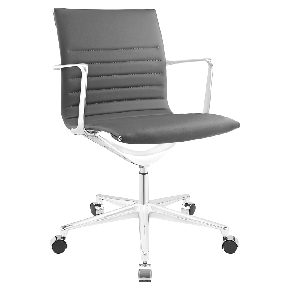Vi Mid Back Office Chair - Adjustable Height, Swivel ...
