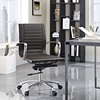 Runway Mid Back Office Chair - Adjustable Height, Swivel, Armrest - EEI-1527