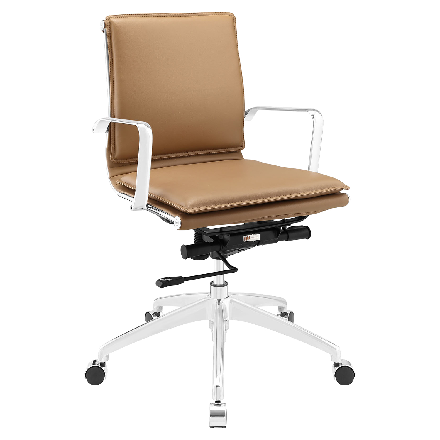 Sage Office Chair - Mid Back, Adjustable Height, Swivel, Armrest - EEI-1530