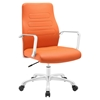 Depict Mid Back Aluminum Office Chair - Swivel, Height Adjustable - EEI-1531