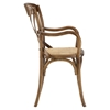 Gear Wood Dining Armchair - Walnut - EEI-1538-WAL