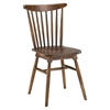 Amble Slat Wood Dining Side Chair - Walnut - EEI-1539-WAL